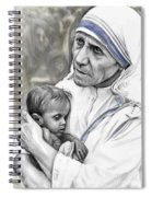 Mother Teresa. God Bless This Child Spiral Notebook