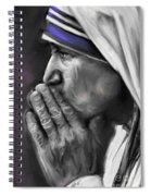 Mother Teresa Of Calcutta Spiral Notebook