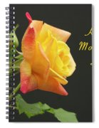 Mothers Day Card 4 Spiral Notebook