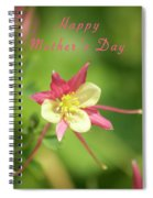 Mothers Day Card 5 Spiral Notebook