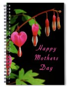 Mothers Day Card 6 Spiral Notebook