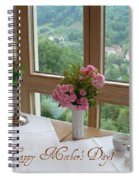 Mother's Day Card - German Cafe Spiral Notebook