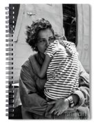Mothers Day - Mommy Is Home From The War Spiral Notebook