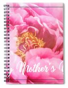 Mother's Day Peony Spiral Notebook
