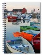 Motif #1 Rockport Ma Spiral Notebook