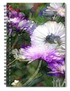 Motif Japonica No. 12 Spiral Notebook