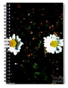 Motif Noir No. 1 Spiral Notebook
