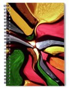 Motion And Light Abstract Spiral Notebook