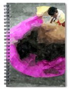 Bull Motion 3 Spiral Notebook