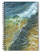 Motion Of The Ocean Spiral Notebook
