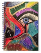 Motley Eye Spiral Notebook