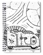 Moto Mouse Spiral Notebook