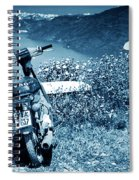 Motor Scooters In Greece Spiral Notebook
