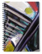 Motorcycle Abstract Engine 1 Spiral Notebook