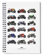 Motorcycle Concepts 2017-2018 Spiral Notebook