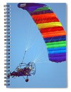 Motorized Parasail 2 Spiral Notebook