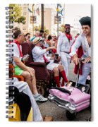 Motorized Recliners And Elvis - Nola Spiral Notebook
