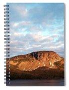 Mottled Sky Of Late Spring Spiral Notebook