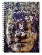 Mould Damage At Angkor Thom Spiral Notebook