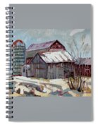 Moultons Barns Spiral Notebook