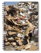 Mound Of Recyclables Spiral Notebook