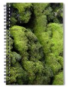 Mounds Of Moss Spiral Notebook
