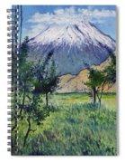 Mount Ararat North Eastern Anatolia Turkey 2006  Spiral Notebook