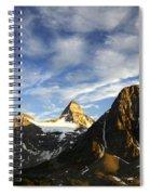 Mount Assiniboine Canada 14 Spiral Notebook
