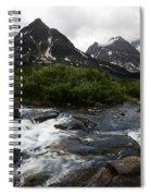 Mount Assiniboine Canada 15 Spiral Notebook