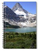 Mount Assiniboine Canada 16 Spiral Notebook