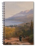 Mount Athos And The Monastery Spiral Notebook
