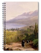 Mount Athos And The Monastery Of Stavroniketes Spiral Notebook
