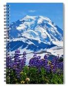 Mount Baker Wildflowers Spiral Notebook