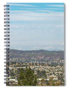 Mount Baldy And Mountain High Spiral Notebook