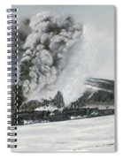 Mount Carmel Eruption Spiral Notebook
