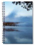 Mount Chocorua Peeks Above The Fog Spiral Notebook