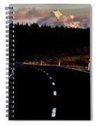 Mount Cook New Zealand Spiral Notebook