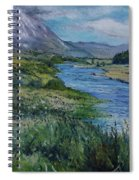 Mount Errigal Co. Donegal Ireland. 2016 Spiral Notebook
