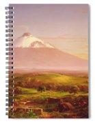 Mount Etna Spiral Notebook