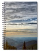 Mount Evans Painterly 1 Spiral Notebook
