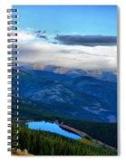 Mount Evans Painterly 2  Spiral Notebook