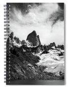 Mount Fitz Roy Spiral Notebook
