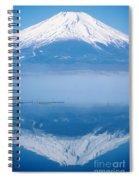Mount Fuji Spiral Notebook