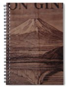 Mount Fuji Spiral Notebook