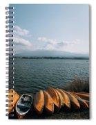 Mount Fuji View Spiral Notebook