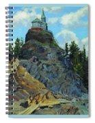 Mount Grace 1890 Apollinaris M Vasnetsov Spiral Notebook