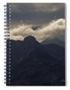 Mount Graham Mountain In Arizona Spiral Notebook