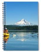 Mount Hood Kayakers Spiral Notebook