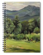 Mount Lafayette From Sugar Hill New Hampshire Spiral Notebook