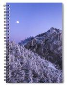Mount Liberty Blue Hour Spiral Notebook